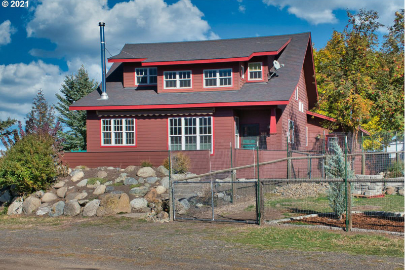 Custom Designed Home in Joseph with a Great Mountain View