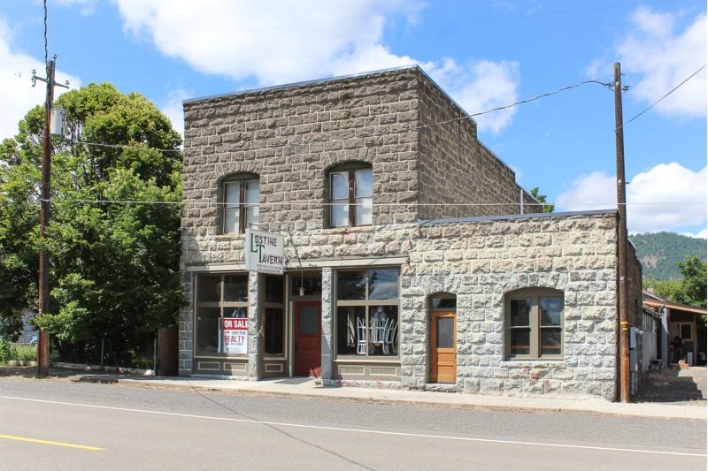 The Lostine Tavern, living quarters and adjacent duplex!