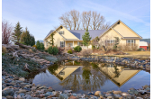 21013384, Modern Farmhouse on 27+ Acres with a Pond and Wallowa River Frontage